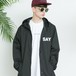 "SAY! / セイ!|  "" WINDBREAKER JKT "" - Black"