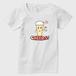 乾杯ビールちゃん レディースTシャツ 白
