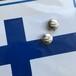 Finnair button cuffs