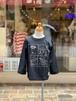 KIDS:NEEDLE WORKS【ニードルワークス】エイリアンTシャツ(ブラック/90〜150cm)