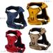 フィックスハーネス単品/布製/軽量/犬のハーネス/犬用ハーネス/胴輪/服/ベスト/犬の服/犬服/中型犬/大型犬
