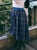 check and check skirt