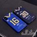 「NFL」ロサンゼルス ラムズ 2019-20シーズン ユニフォーム ジャレッドゴフ トッドガーリー サイン入り iPhoneXR iPhone8 ケース