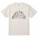【 309 Farm ロゴ】メンズTシャツ:バニラホワイト