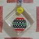 フランス DELACOSTE[デラコステ] おもちゃメーカー広告ブルボンキーホルダー