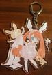 ピンク Chiyoko版・チョコメリゼのアクリル両面ラパンストラップ