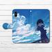 #048-005 手帳型iPhoneケース 手帳型スマホケース 全機種対応 iPhoneX 可愛い 女の子 アニメ柄 かわいい Xperia iPhone5/6/6s/7/8 ARROWS AQUOS ノスタルジー Galaxy HUAWEI Zenfone タイトル:夏の風音 作:みふる