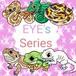 [EYE'sシリーズ6種(全12種)]ラメ入り爬虫類ステッカー