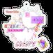 キーホルダー【Dye in rainbow colors】