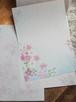 桜のレターパッドB(古染め箋)