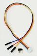 センサケーブル30cm XH3ピン-QL1ピンコネクター付き RDP-835