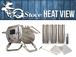 【薪ストーブ】G-Stove Heat View 本体セット