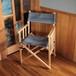 Tabi Obi Air Chair Denim Stripe (オビ チェア・デニムストライプ)