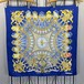 HERMES CARRES90 BRITISH HERALDRY LARGE SIZE SILK 100% SCARF MADE IN FRANCE/エルメスカレ90シルク100%大判スカーフ(英国紋章)