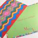 【Pattern series】warm color グリーティングカード / ポストカードサイズ(封筒付き)