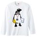 [ロングスリーブTシャツ]STAFF Penguin