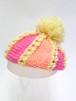 手編みのキッズ帽子