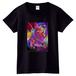 「誰も知らない」 Tシャツ (黒 Women)
