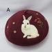水仙舎「羊毛刺繍ベレー帽」