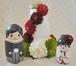 秋の挙式に♪ウェルカムドール に最適!ケーキ型・和装カップル