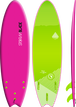Storm Blade 6ft6 Swallow Tail Surfboard / Pink