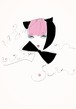 額装作品30 伊藤 蘭「あなたに夢中」