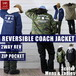 REVERSIBLE 2WAY COACHJACKET FR bp-77