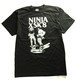NINJA X(Tシャツ)Original SK8 two men Black ニンジャエックス 4101