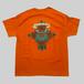 【蛙×薔薇】 オリジナルデザインTシャツ Orange