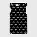 (通販限定)【送料無料】iPhone7Plus_スマホケース モノグラム_ブラック