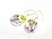 山野草 森の花のピアス B (スプリングエフェメラル・ヤブデマリ)・14kgf《イヤリング可》