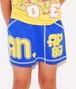 [キッズ]ラメプリントミニスカート