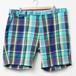 Ralph Lauren  ショートパンツ マドラスチェック ブルー W40