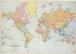 ラッピングペーパー[WOM]ワールドマップ
