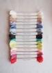 Sunny thread set   オーガニックコットン 刺繍糸 箱入り ブックレット付
