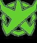 BADFALLロゴステッカー アシッドグリーン5