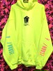P/ HOUSE PARTY Hoodie neon yellow