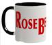 ロズベリーカフェ大ロゴマグカップ(黒)