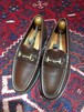 .GUCCI LEATHER HORSE BIT LOAFER MADE IN ITALY/グッチレザーホースビットローファー 2000000032153