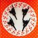 黒猫のケーキトッパー2個セット