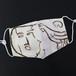 纏向遺跡アート手ぬぐいで作った立体マスク(木製仮面&鶏型埴輪)