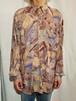 Pattern rayon shirt [O-6]