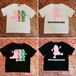 #王珍珍 Print T-shirt(刺繍入り)Collaboration with JODYBOY (No.072)