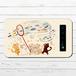 #052-006 モバイルバッテリー 《お魚ーーー!》 作:もなか 猫 ねこ モバイルバッテリー ネコ かわいい 動物 iphone スマホ 充電器