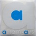 atirom-avs カッティングステッカー (WHITE)