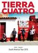 Tierra Cuatro DVD 南米ツアー2015