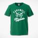 F,M.L BASEBALL Tシャツ グリーン×ホワイト