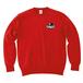 ERICH / ONEPOINT EIGHT-BALL LOGO CREWNECK SWEAT RED