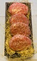HANAMOTOのこだわり手ごねハンバーグ 4個入り(冷凍)