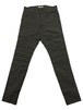 CREASE  STRECH TROUSERS  -CHARCOAL-